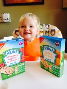 Baby bear and her Heinz baby museli
