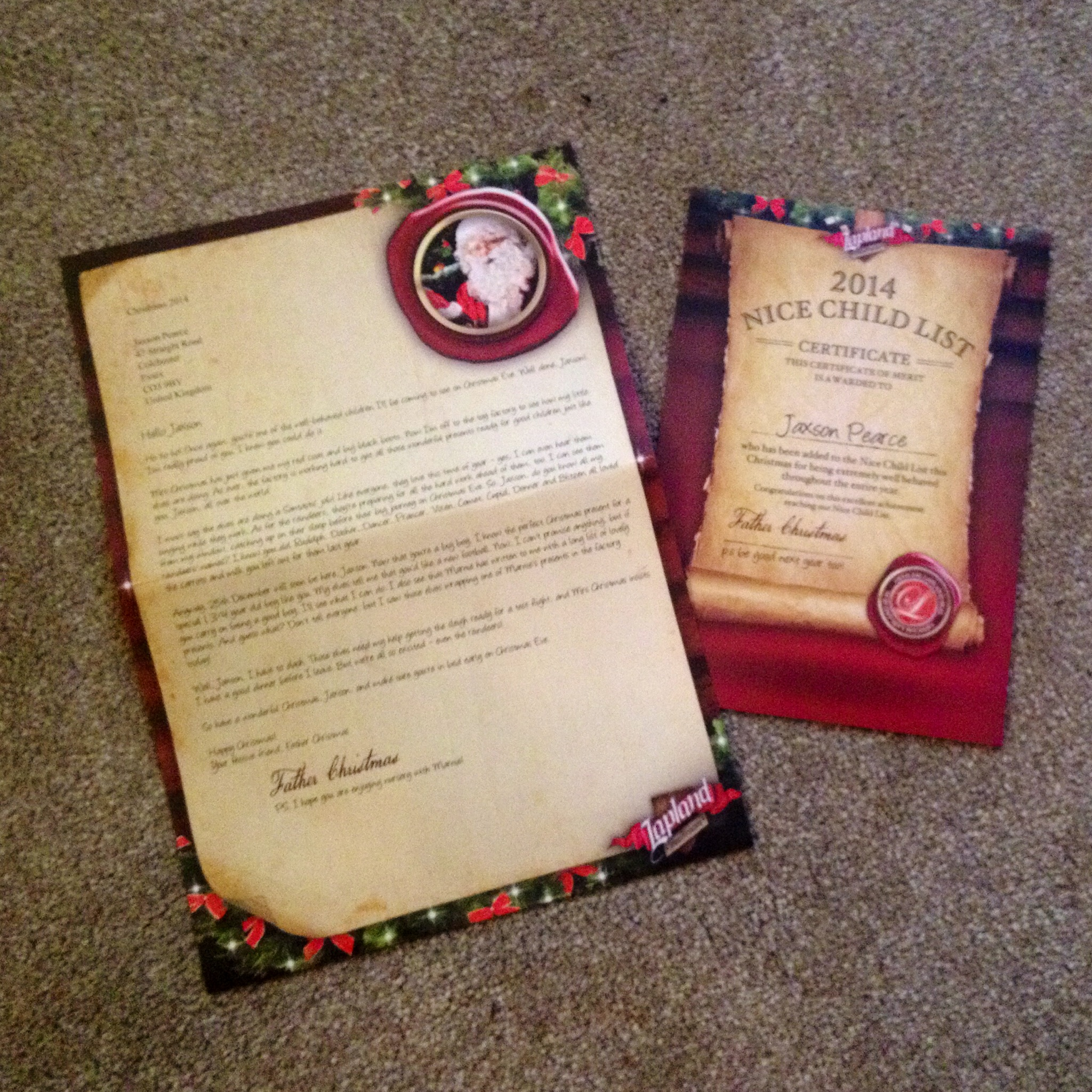 Lapland Mailroom Santa Letters Review  Lamb  Bear