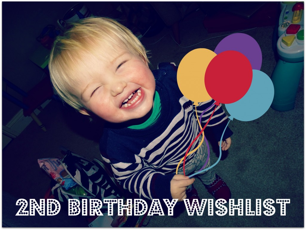 2nd birthday wishlist