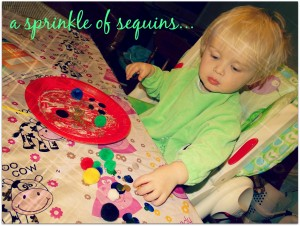 a sprinkle of sequins
