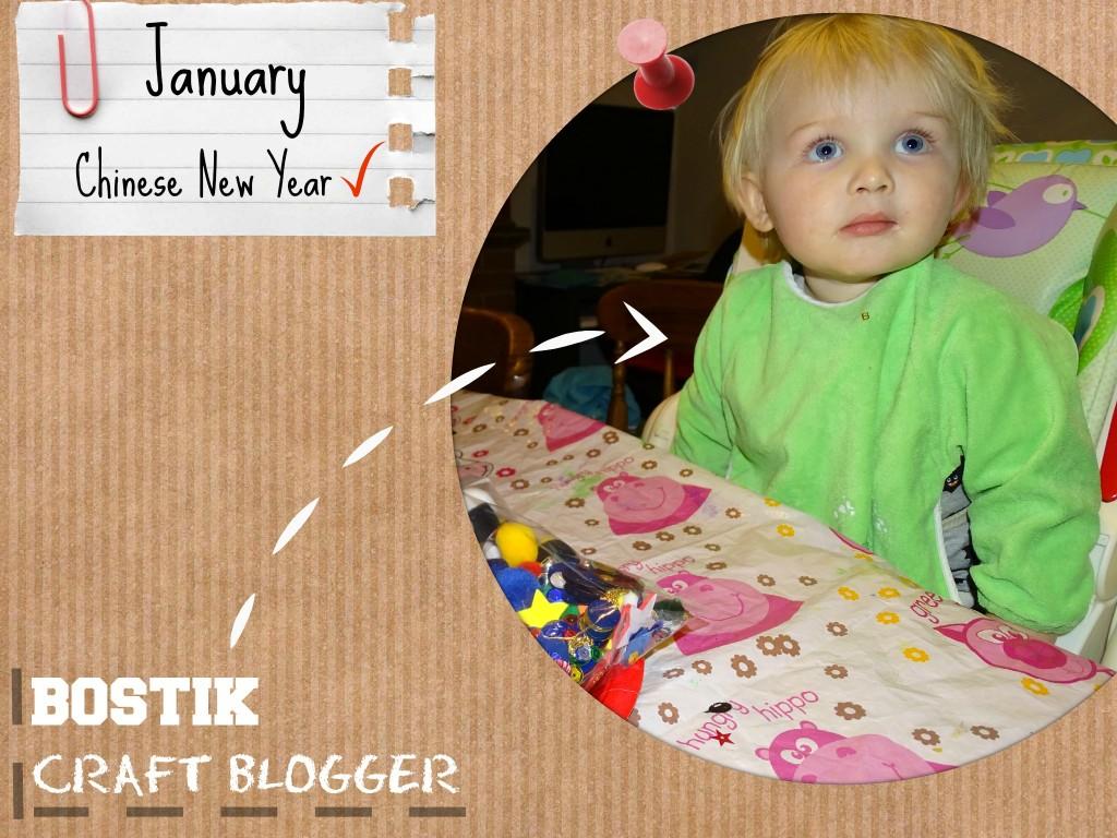 bostik craft blogger january