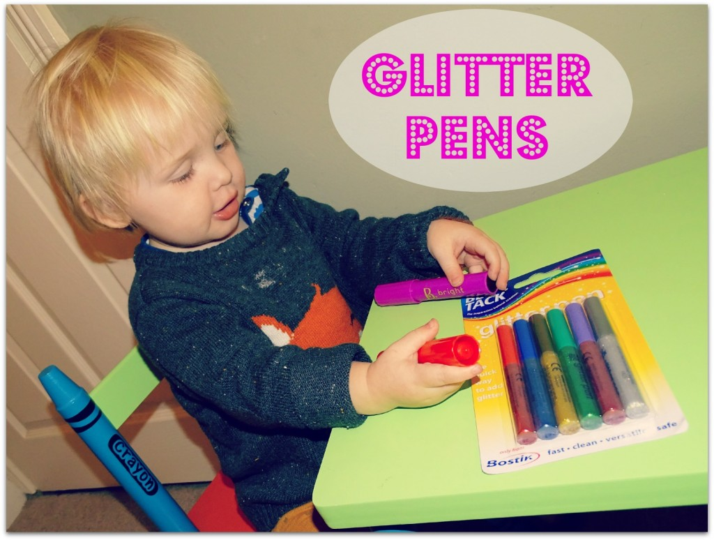glitter pens