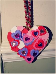 hanging heart 2