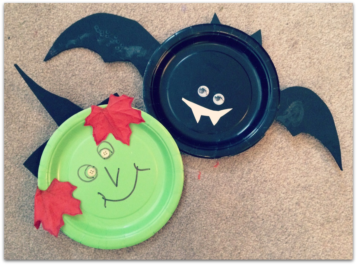 Halloween crafts using paper plates lamb bear halloween crafts using paper plates jeuxipadfo Image collections