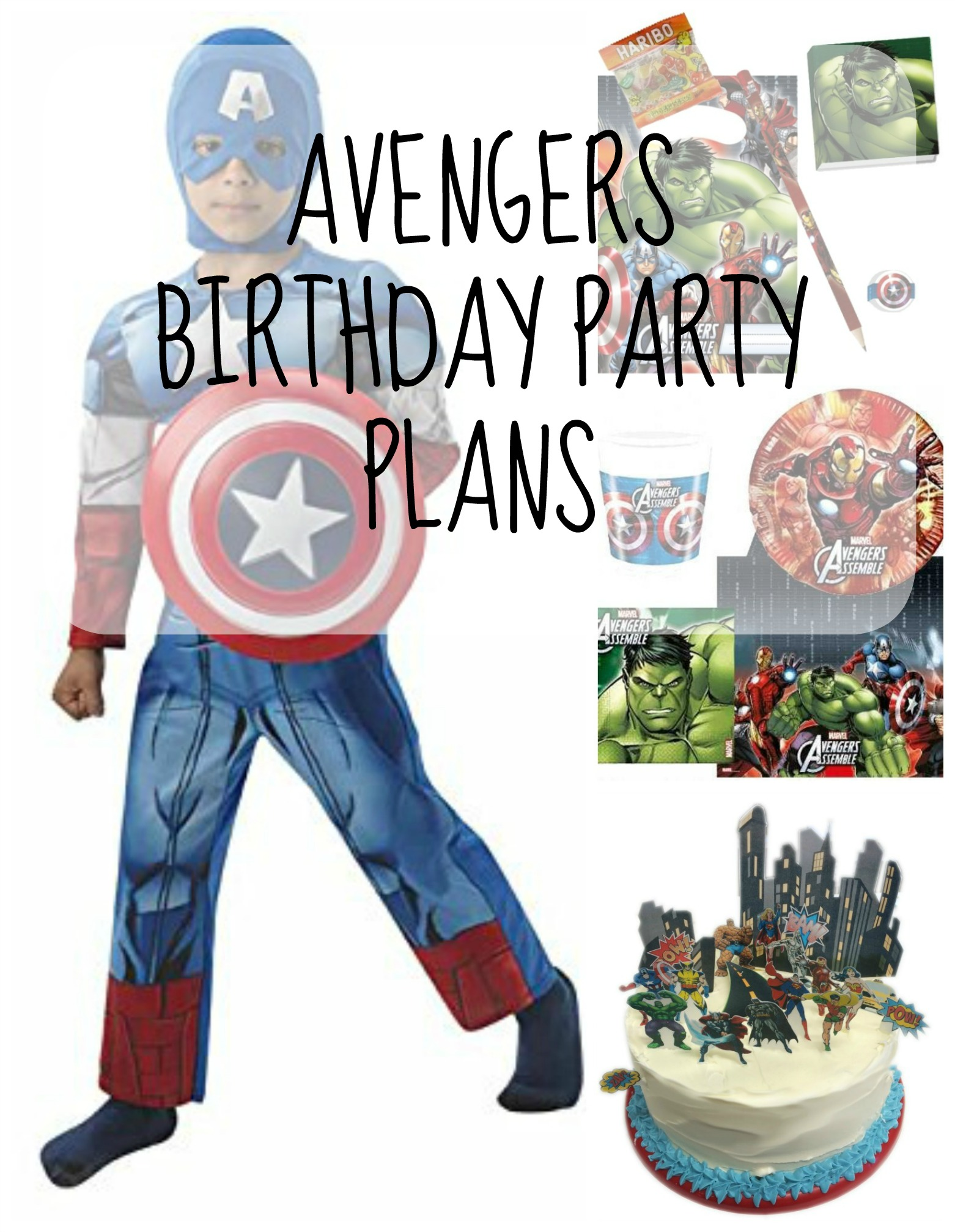 avengers birthday party pin