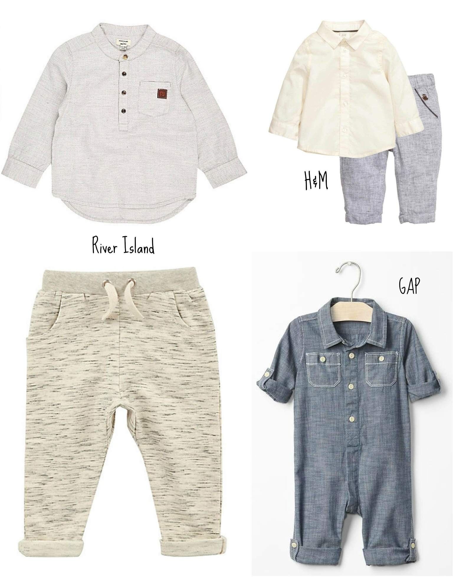 Baby Boy Occasionwear Wish List Lamb & Bear