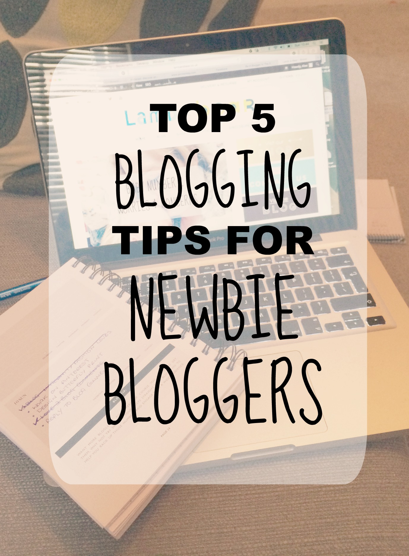 blogging tips pin