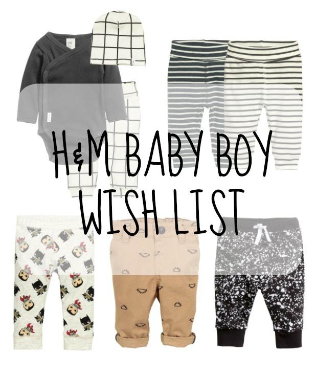 hm baby boy wish list pin
