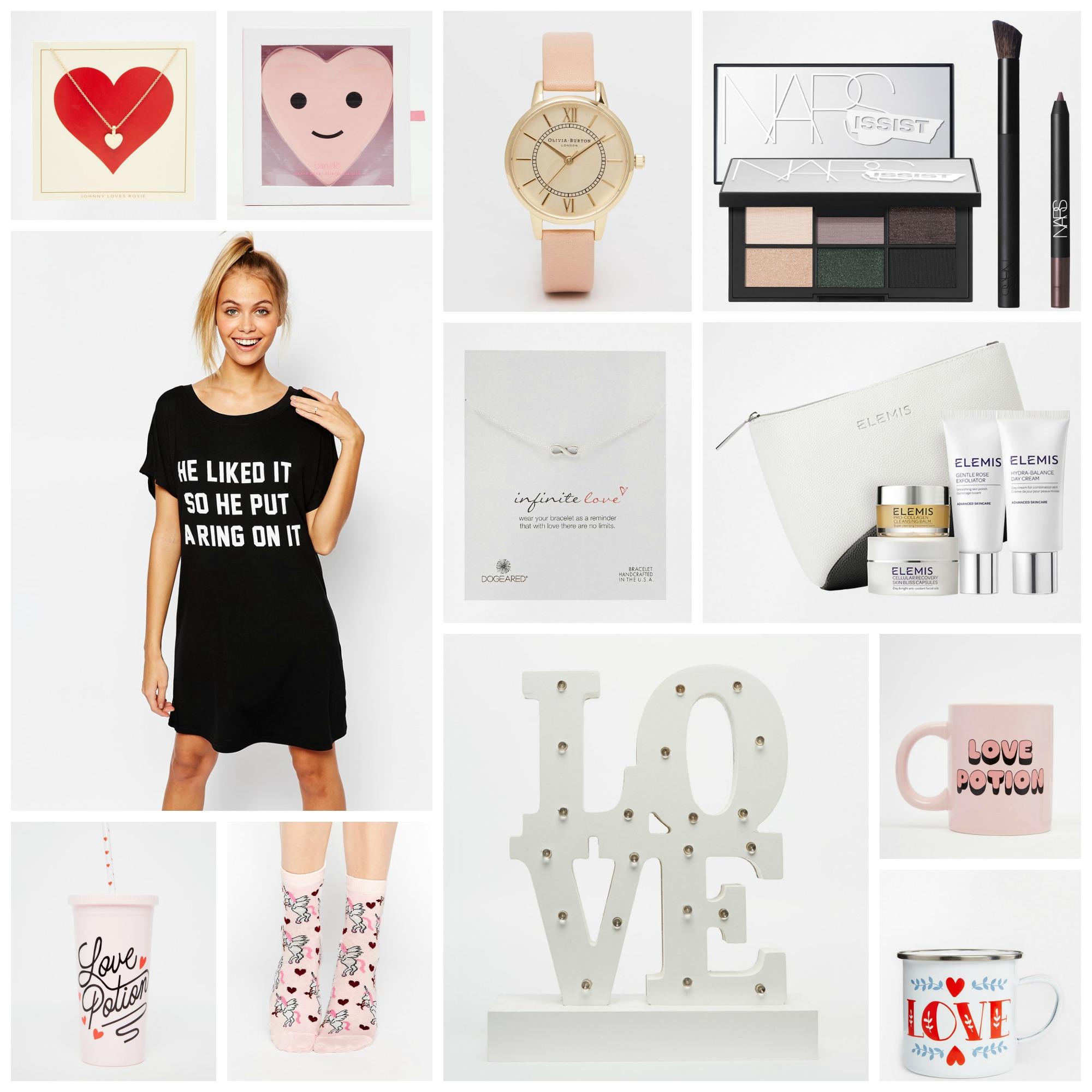valentines her collage