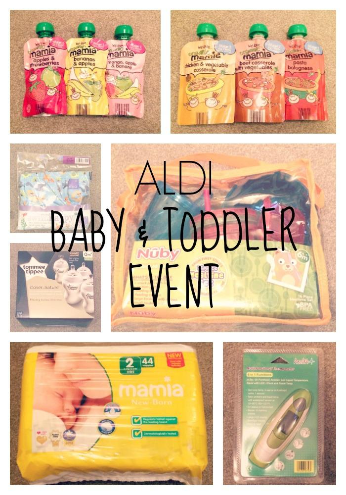 aldi baby event pin