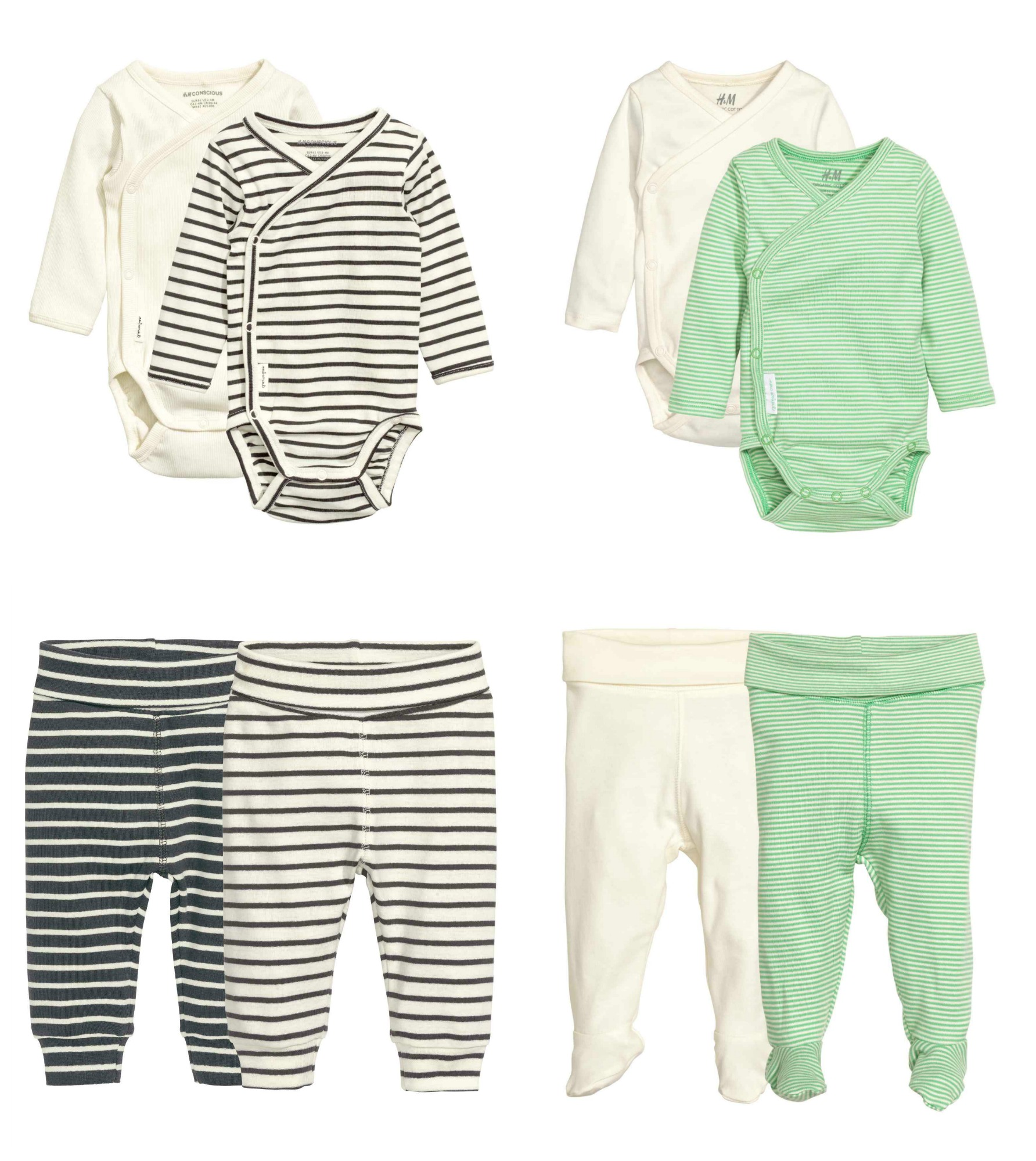 Gender Neutral 'Coming Home' Baby Outfits From H&M