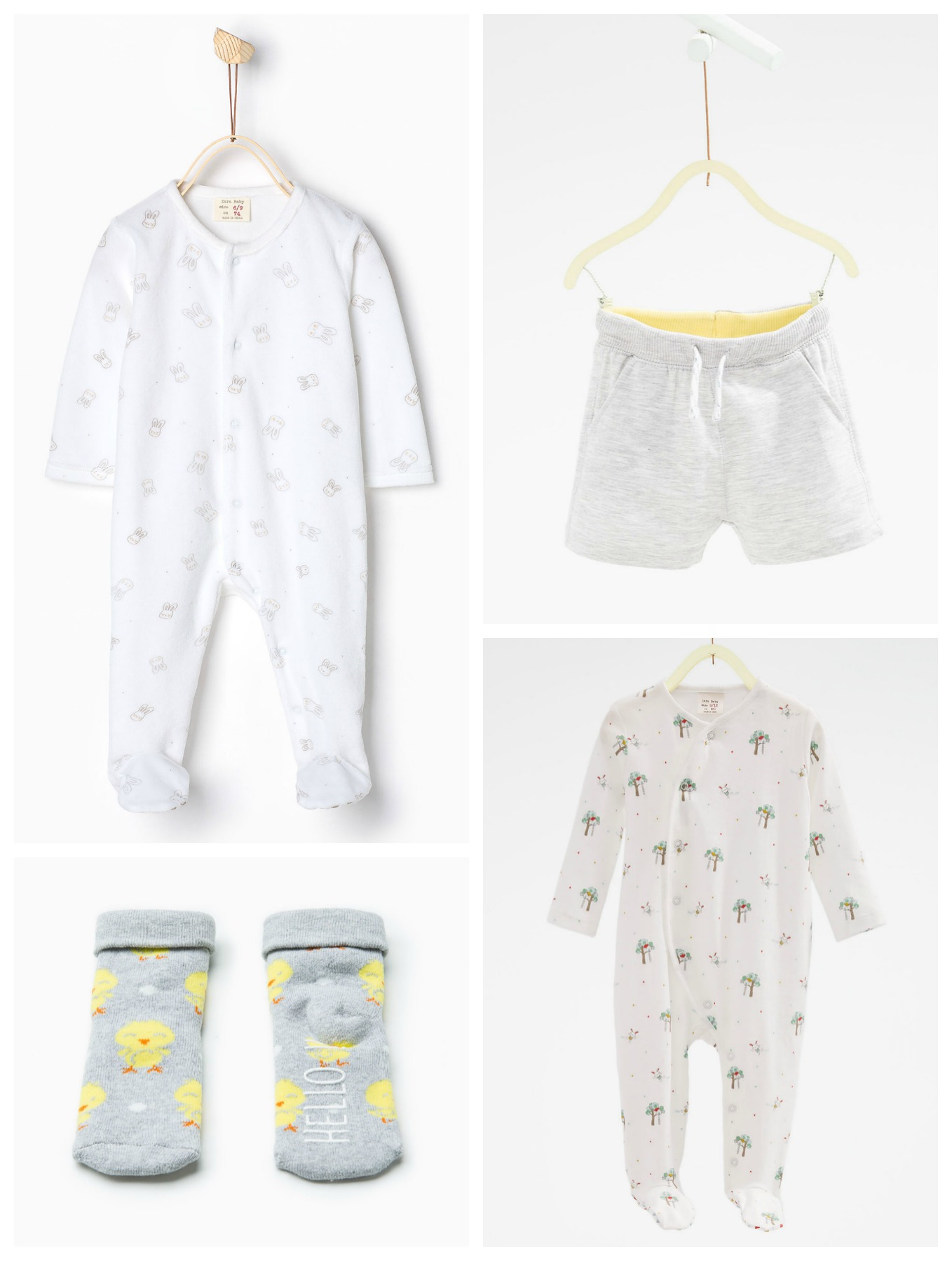 Uni Baby Clothes Perfect For Spring Lamb & Bear