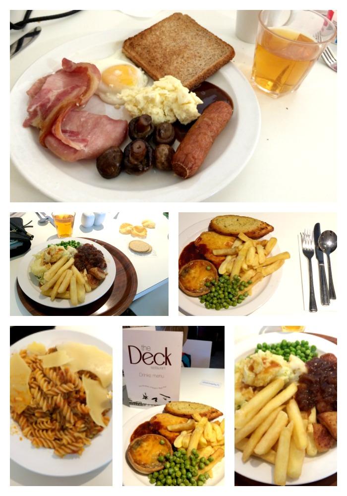 butlins food collage