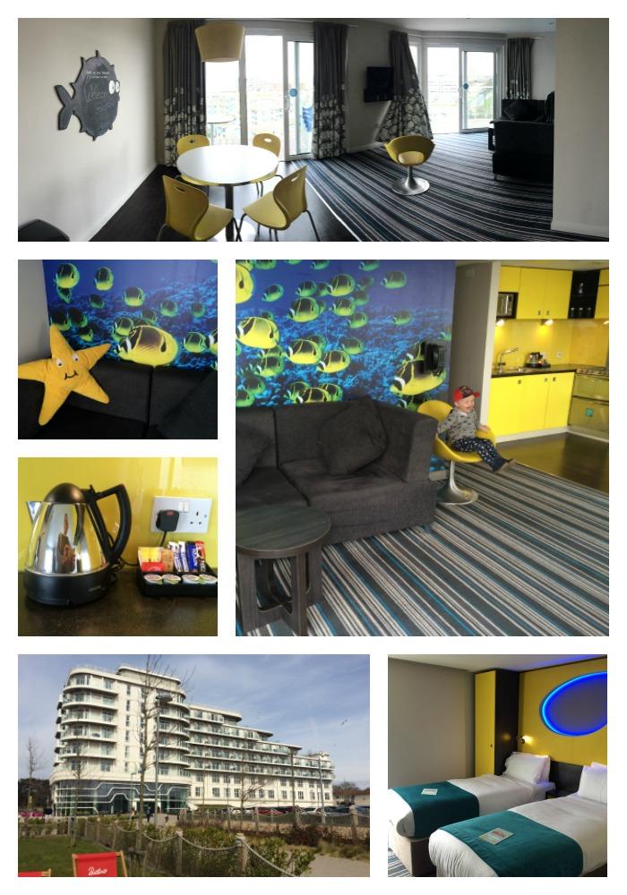 butlins wave room collage