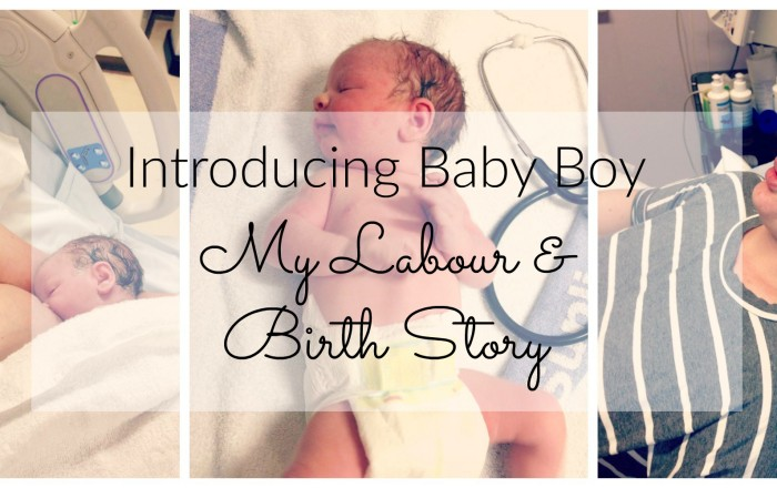 Introducing BB – Labour & Birth Story