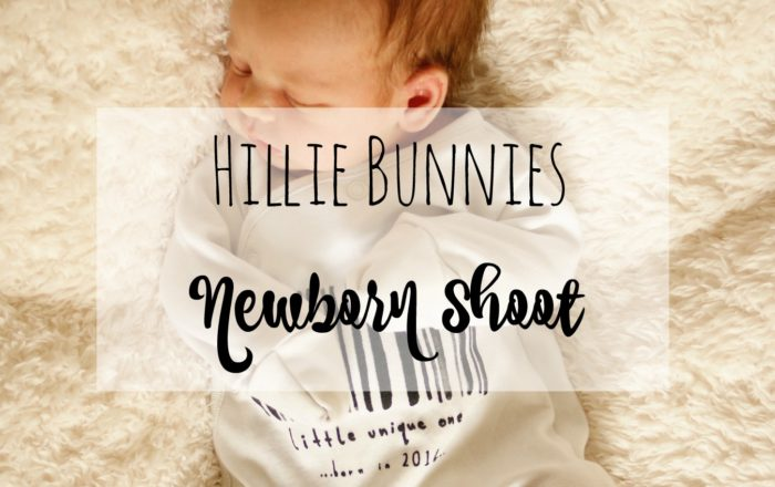 Newborn Shoot with Hillie Bunnies Photography