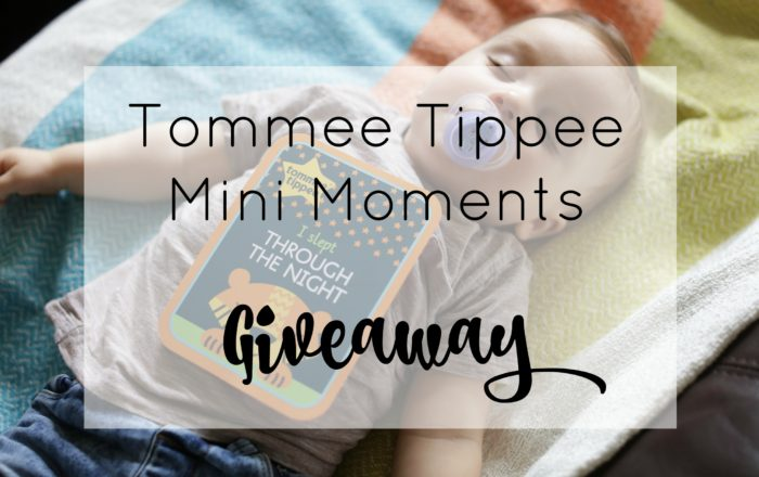 Tommee Tippee #ParentOn Baby Milestone Cards #Giveaway
