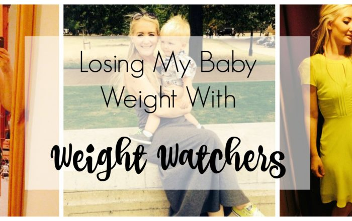 Losing My Baby Weight With Weight Watchers