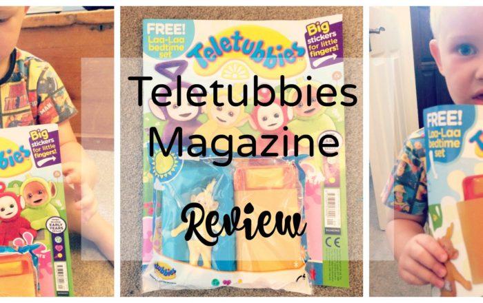 Teletubbies Magazine Review