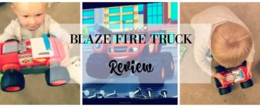 Blaze Transforming Fire Truck Review