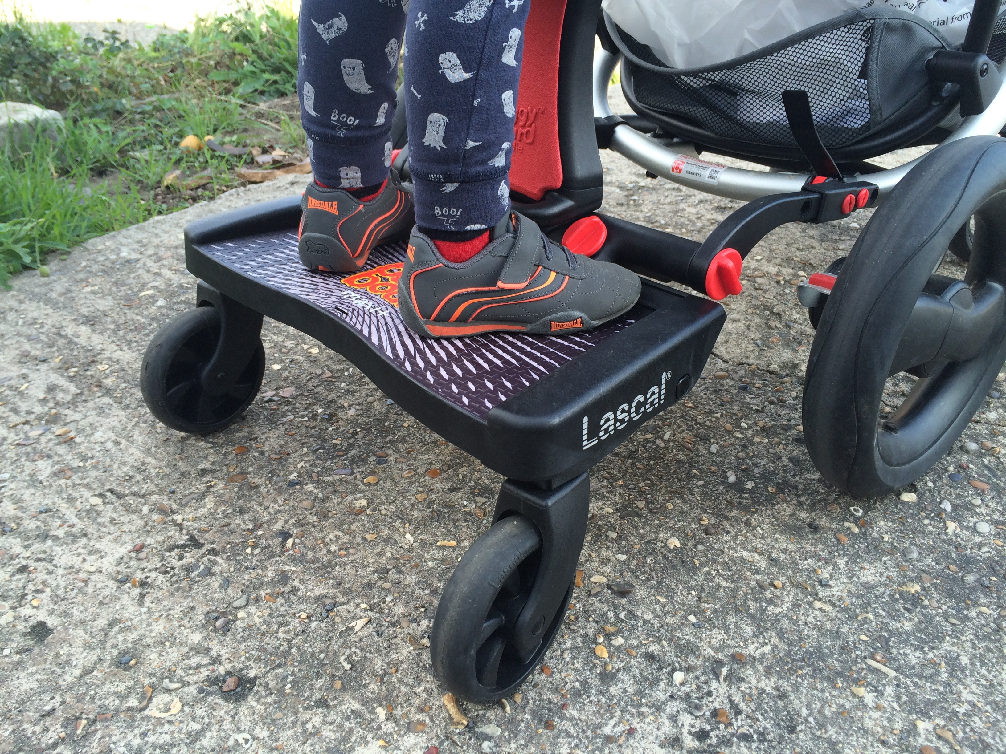 Lascal Buggy Board Maxi Plus Review