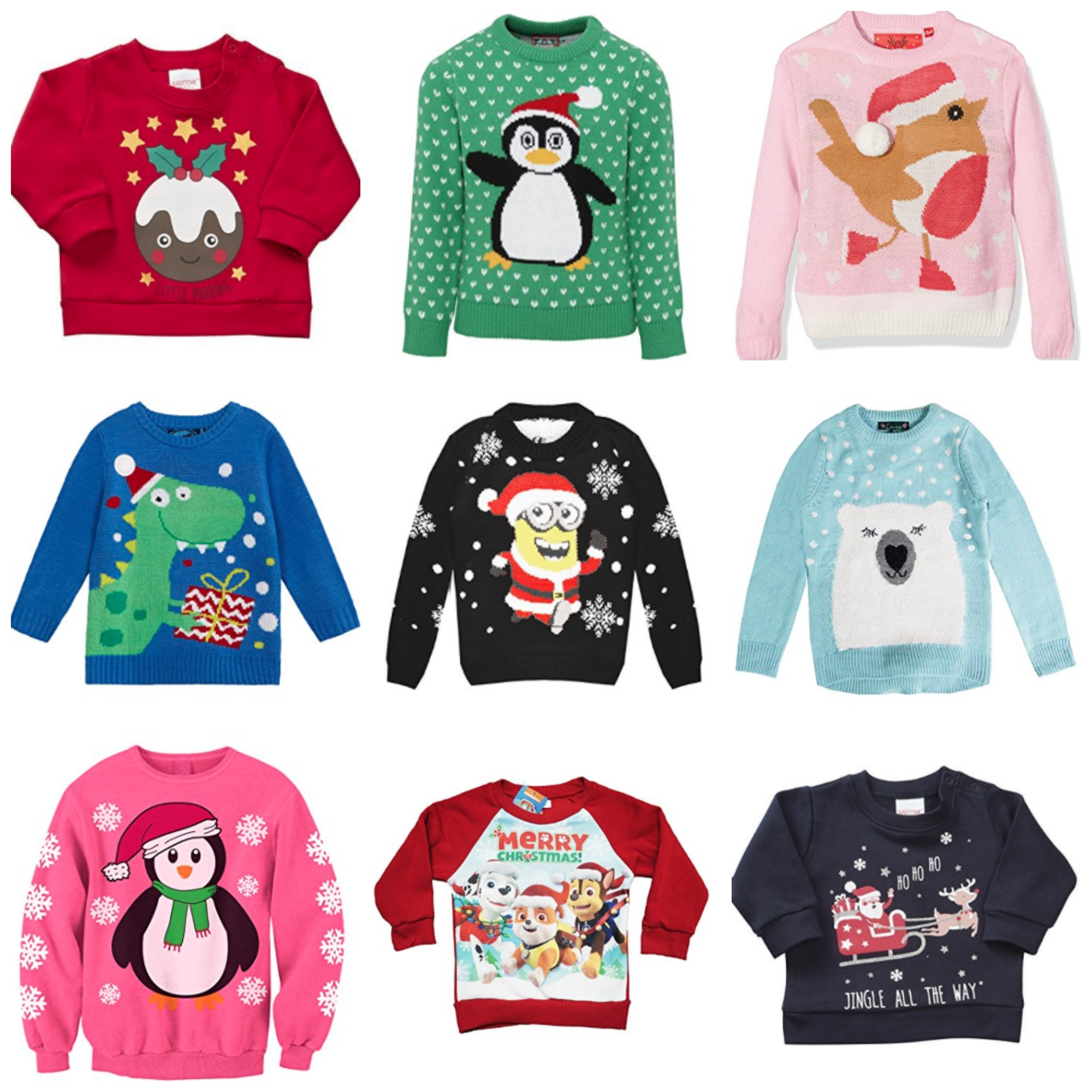 Kids Christmas Jumper Sale