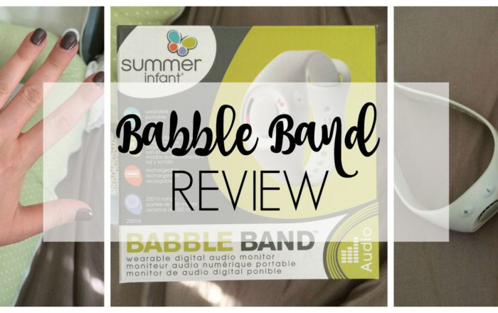 Summer Infant Babble Band Review