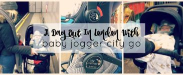 A Day Out In London With Baby Jogger City Go