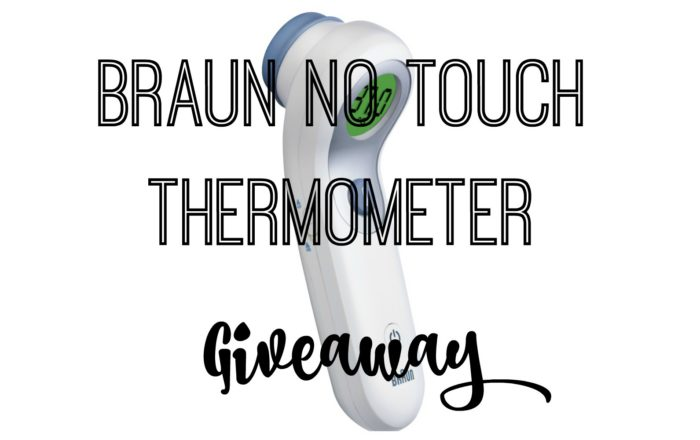 Win a Braun No Touch + Forehead Thermometer worth £52.99