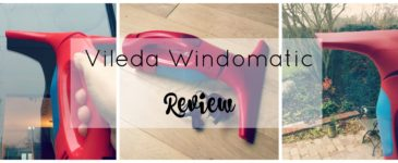 Vileda Windomatic Vac Review #UnexpectedResults
