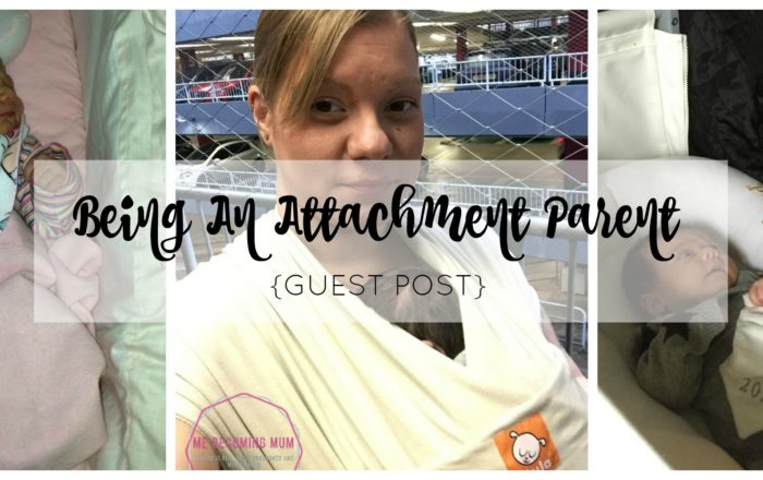 Being An Attachment Parent {Guest Post}