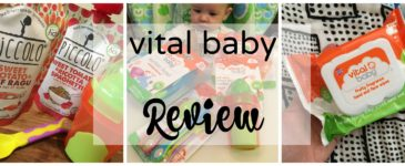 Vital Baby Products Review #ParentingTheVitalWay