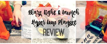 Fisher price Blaze Light & Launch Hyper Loop Review