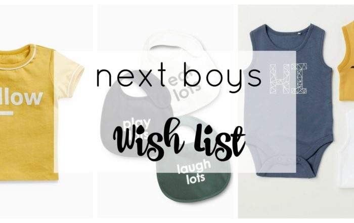 Next Baby And Toddler Boys Wish List