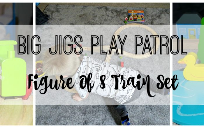 Big Jigs Play Patrol | Figure of 8 Train Set Review