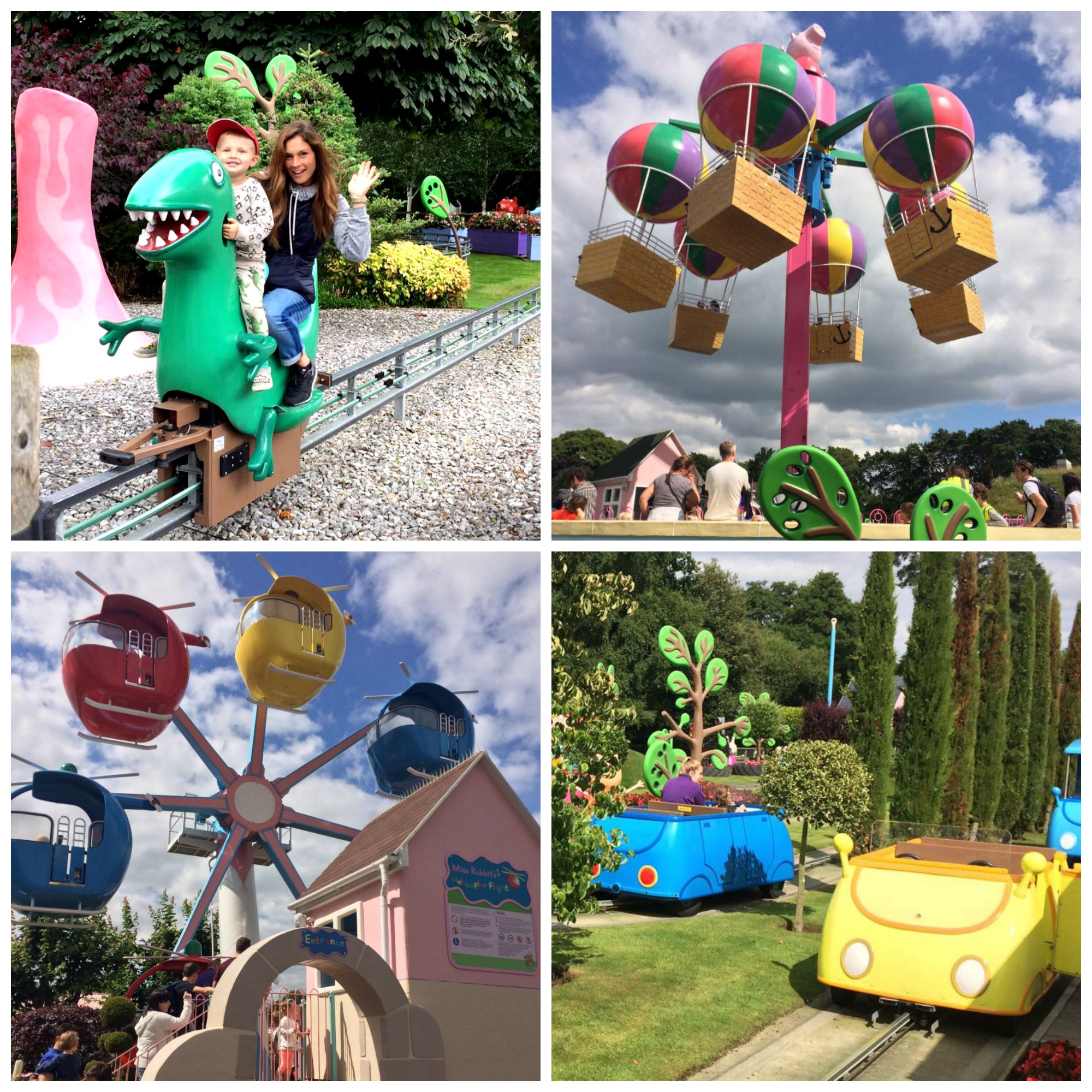 paultons park peppa pig world rides