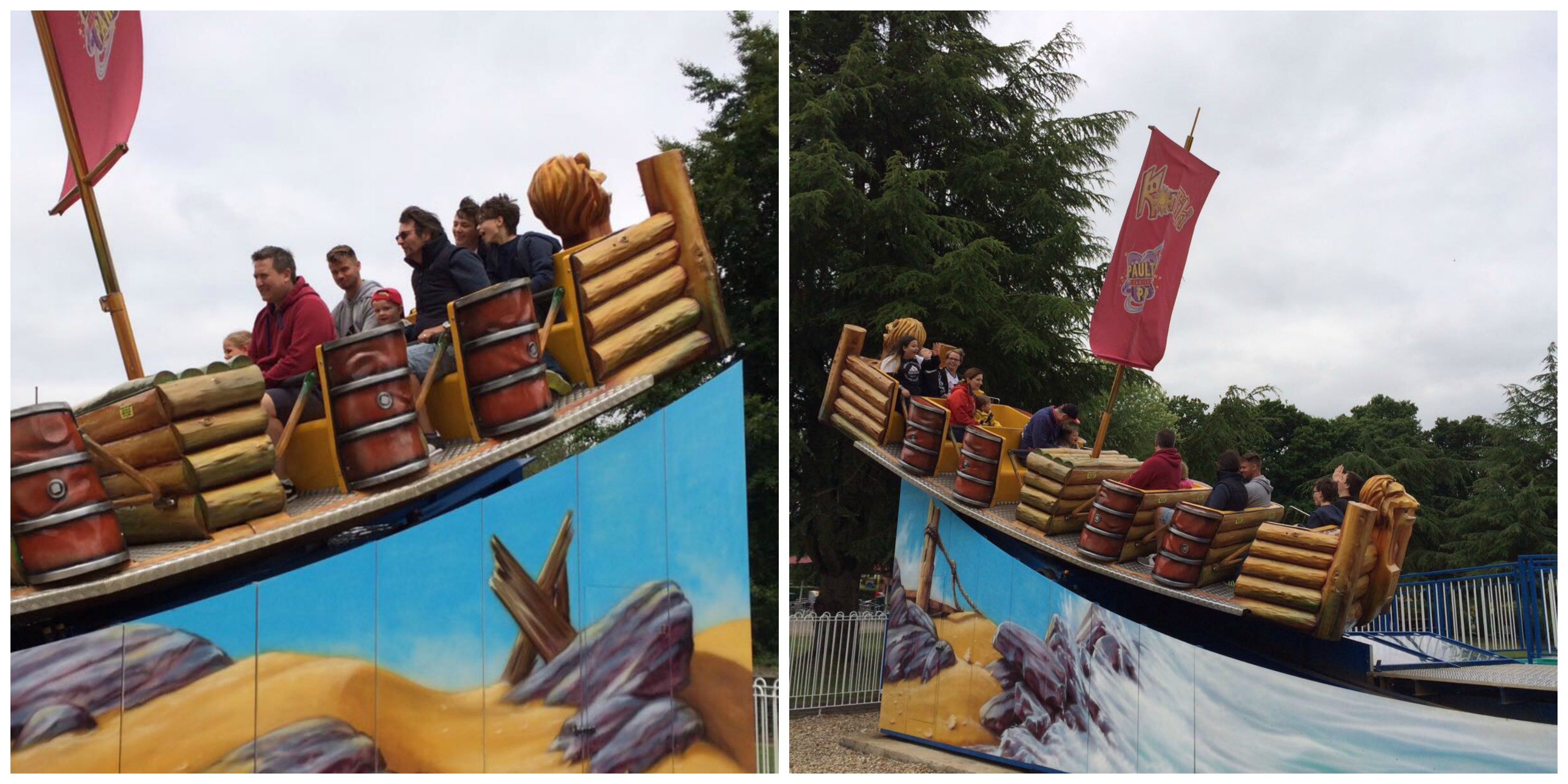 paultons park pirate ship