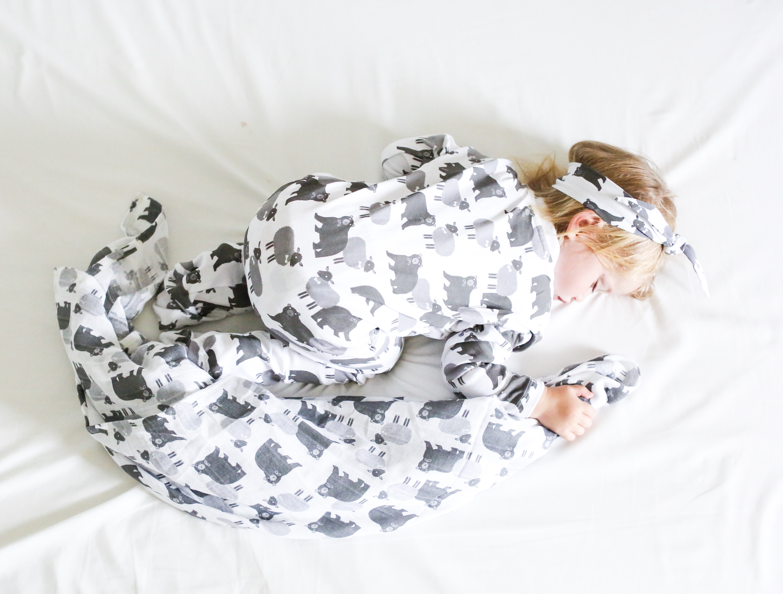 sleepsuit sleeping baby