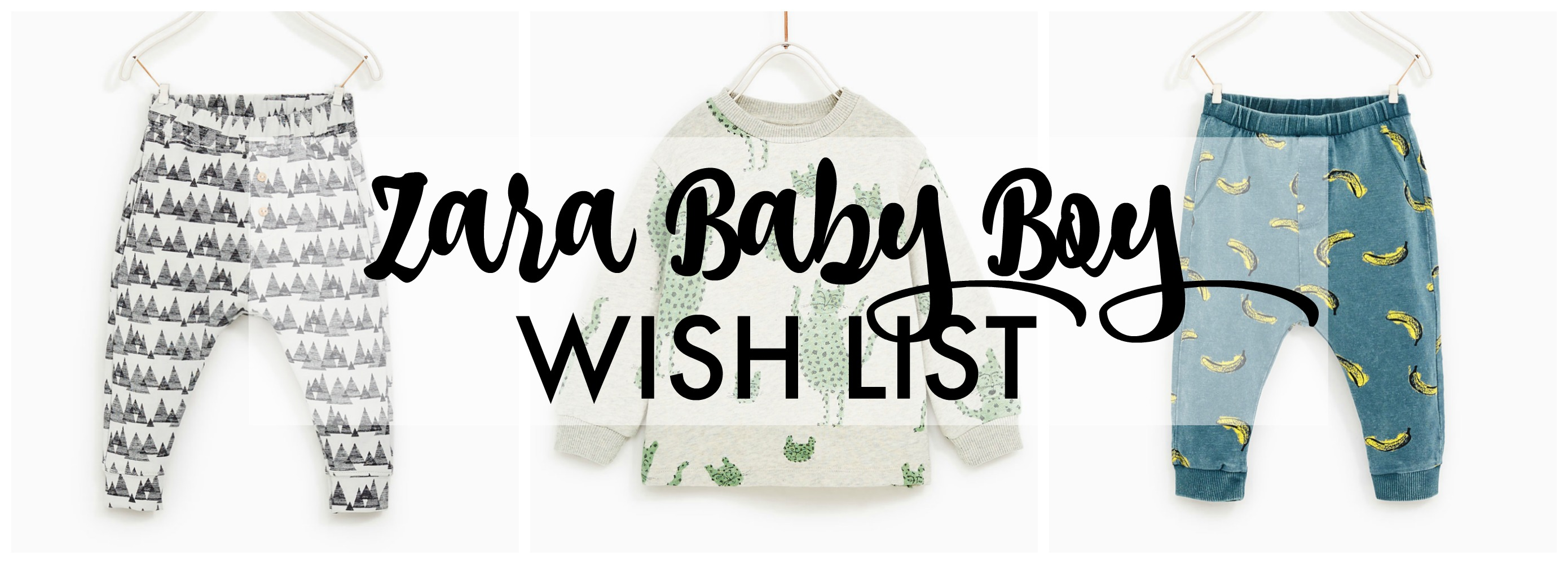 zara baby boy wish list title