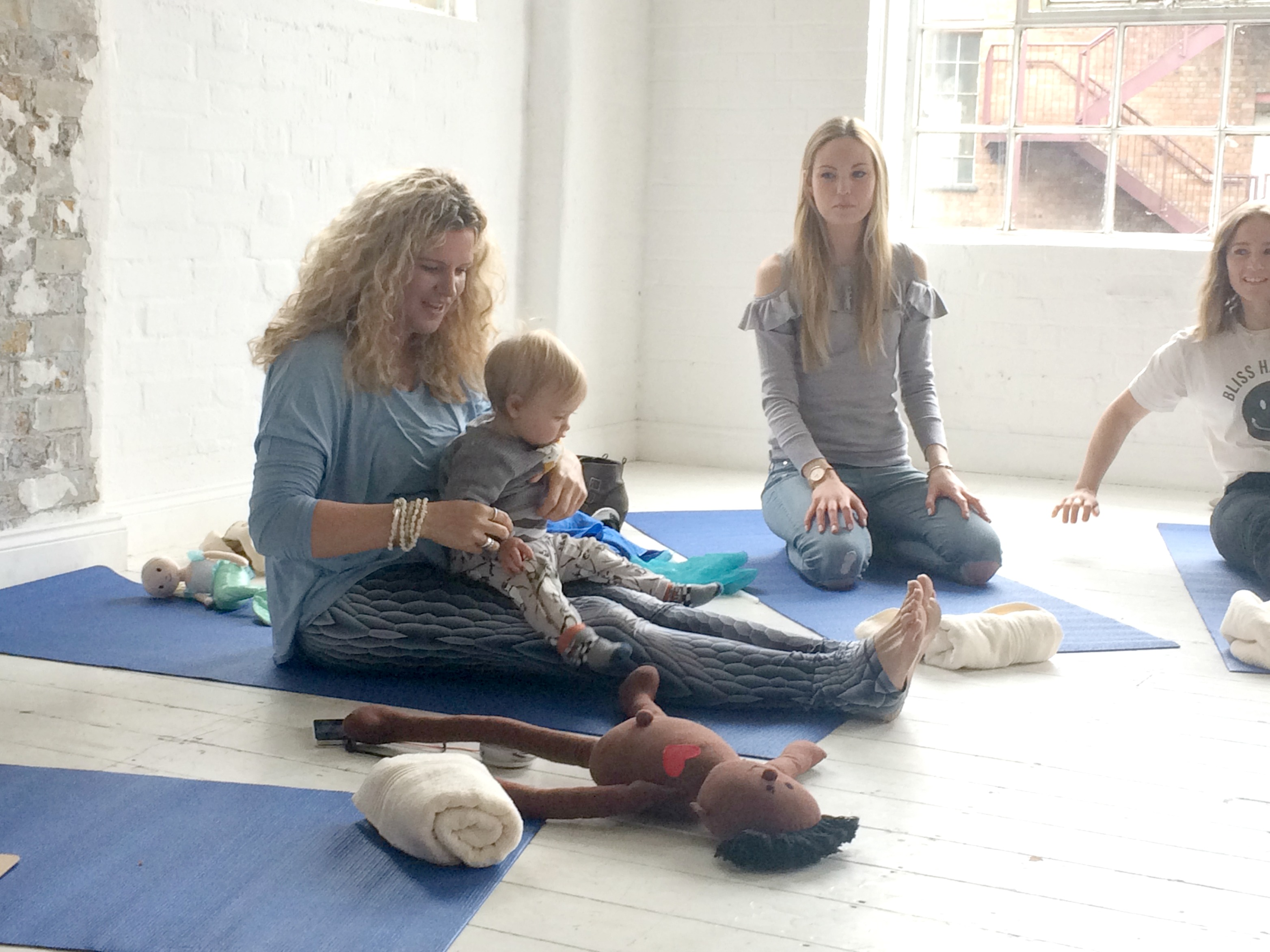 AVEENO® baby yoga