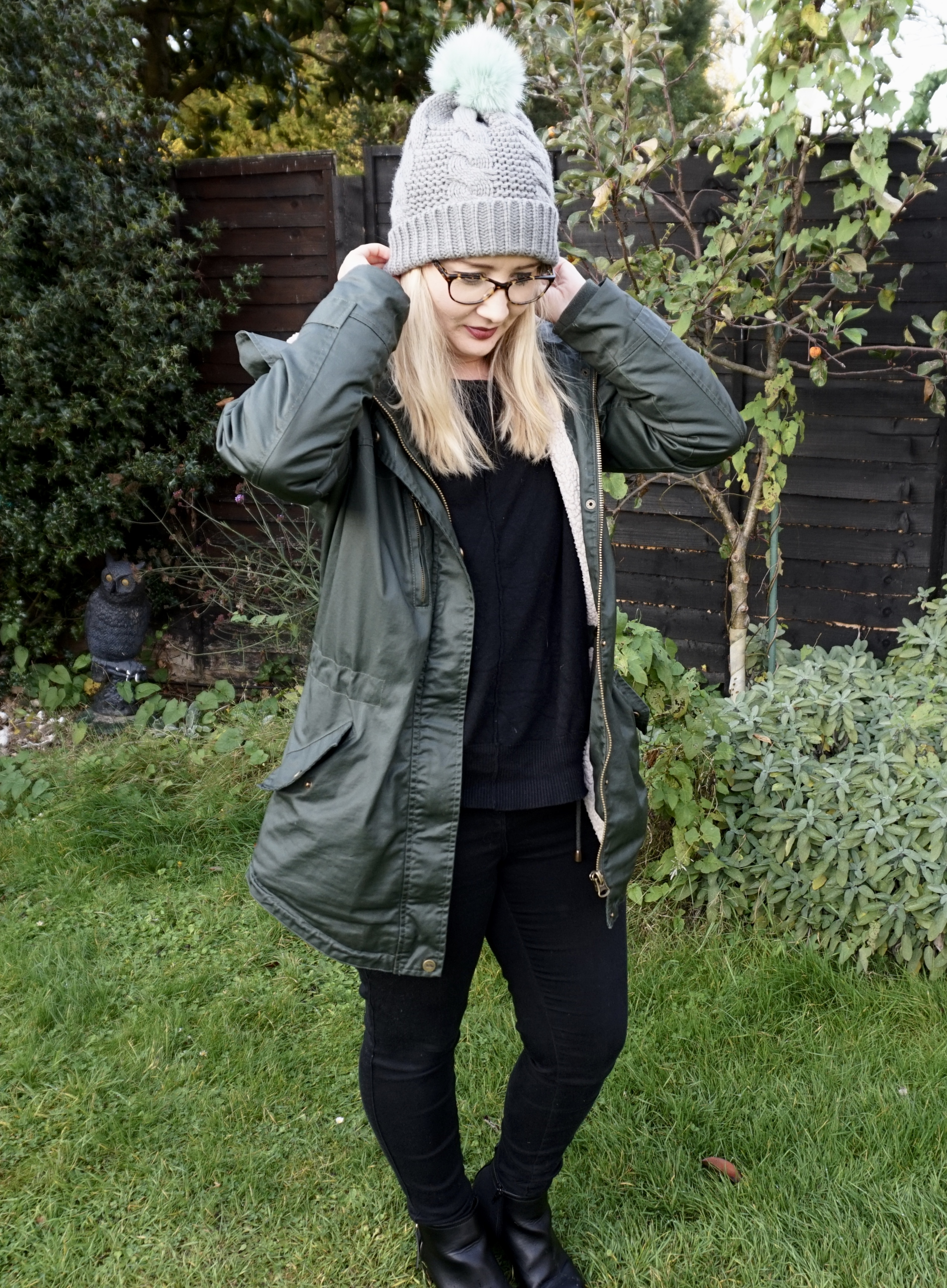 autumn wardrobe trespass Parker coat