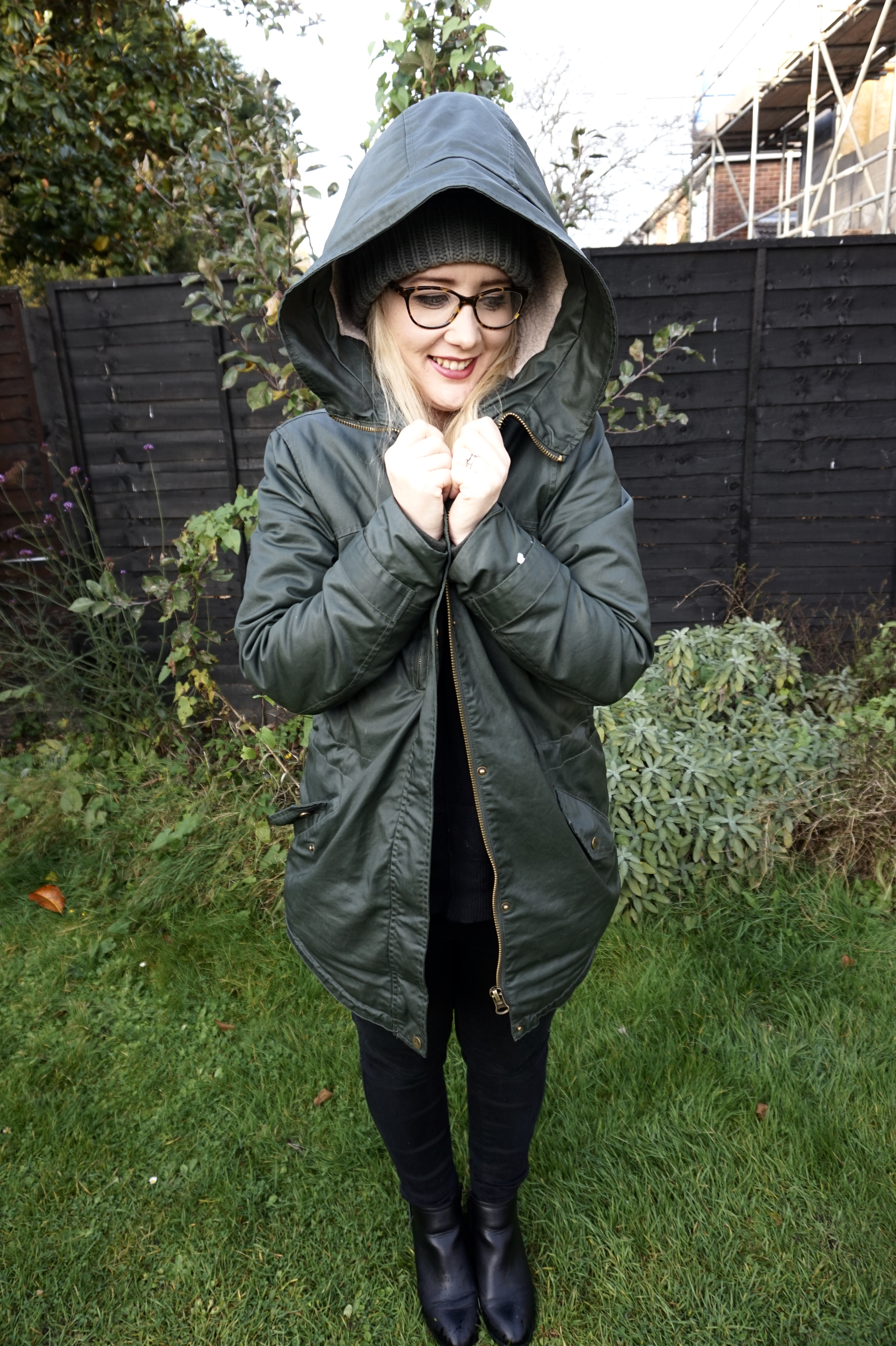 autumn wardrobe parka jacket
