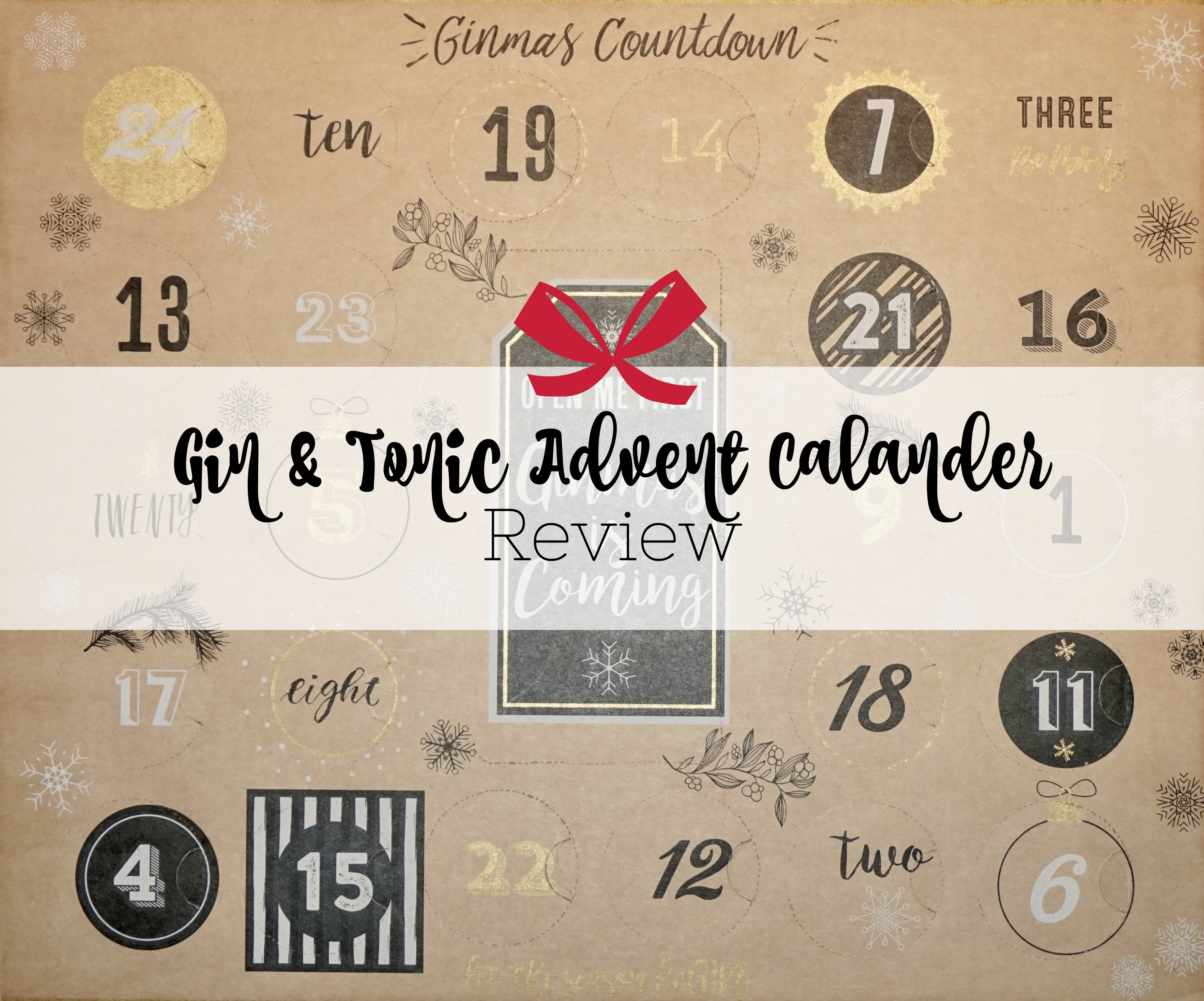 Gin and Tonic Advent Calendar Review