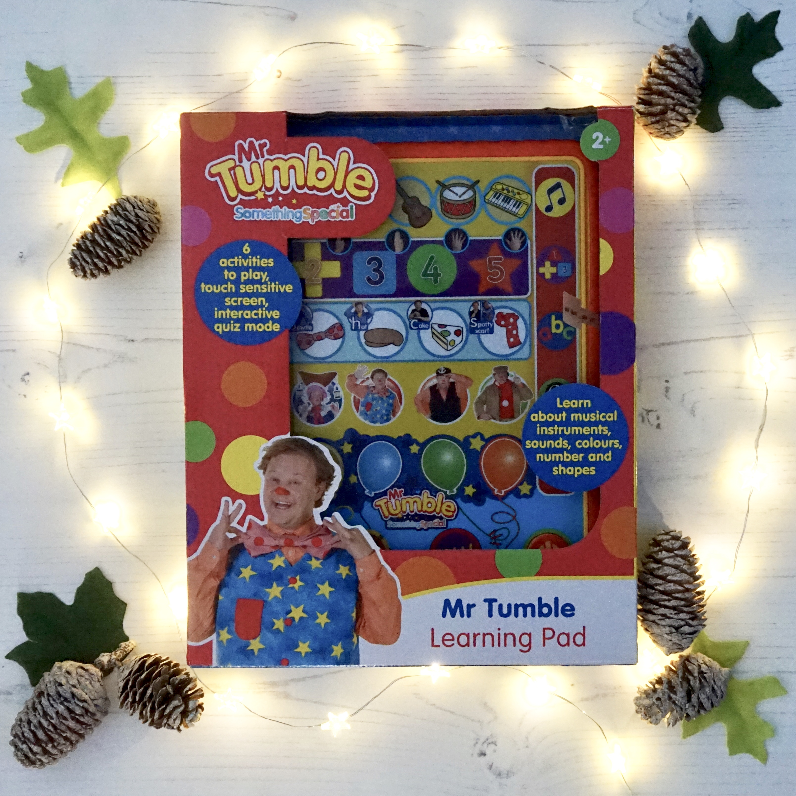 gift guide mr tumble learning pad