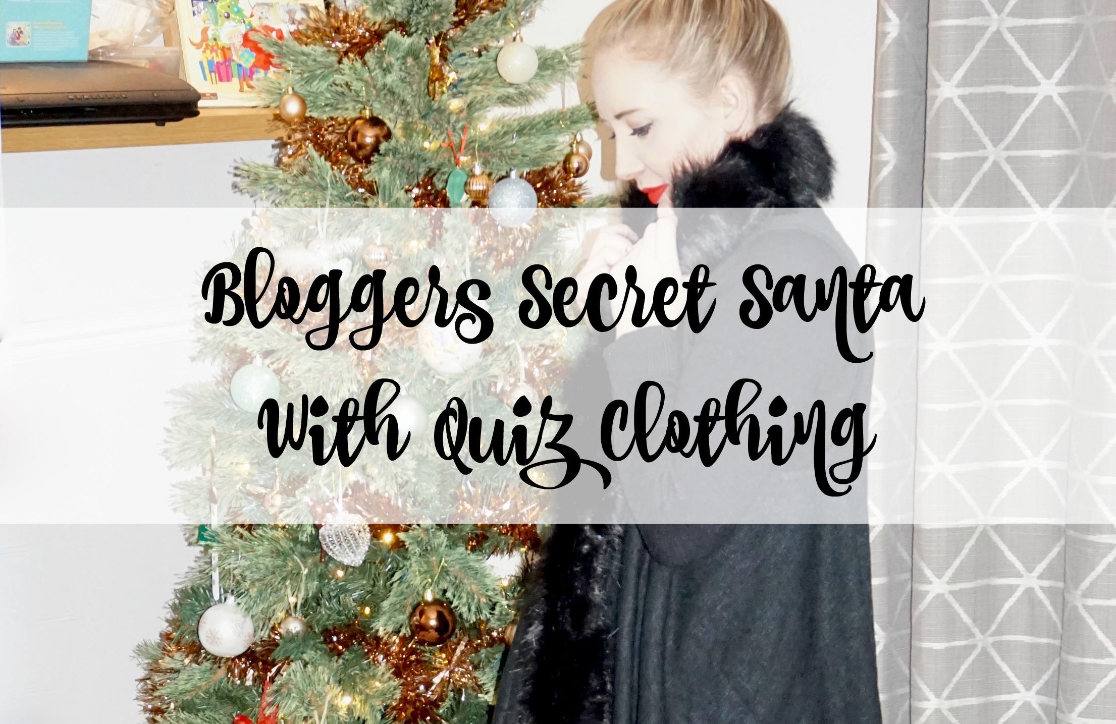 Bloggers Secret Santa With Quiz Clothing