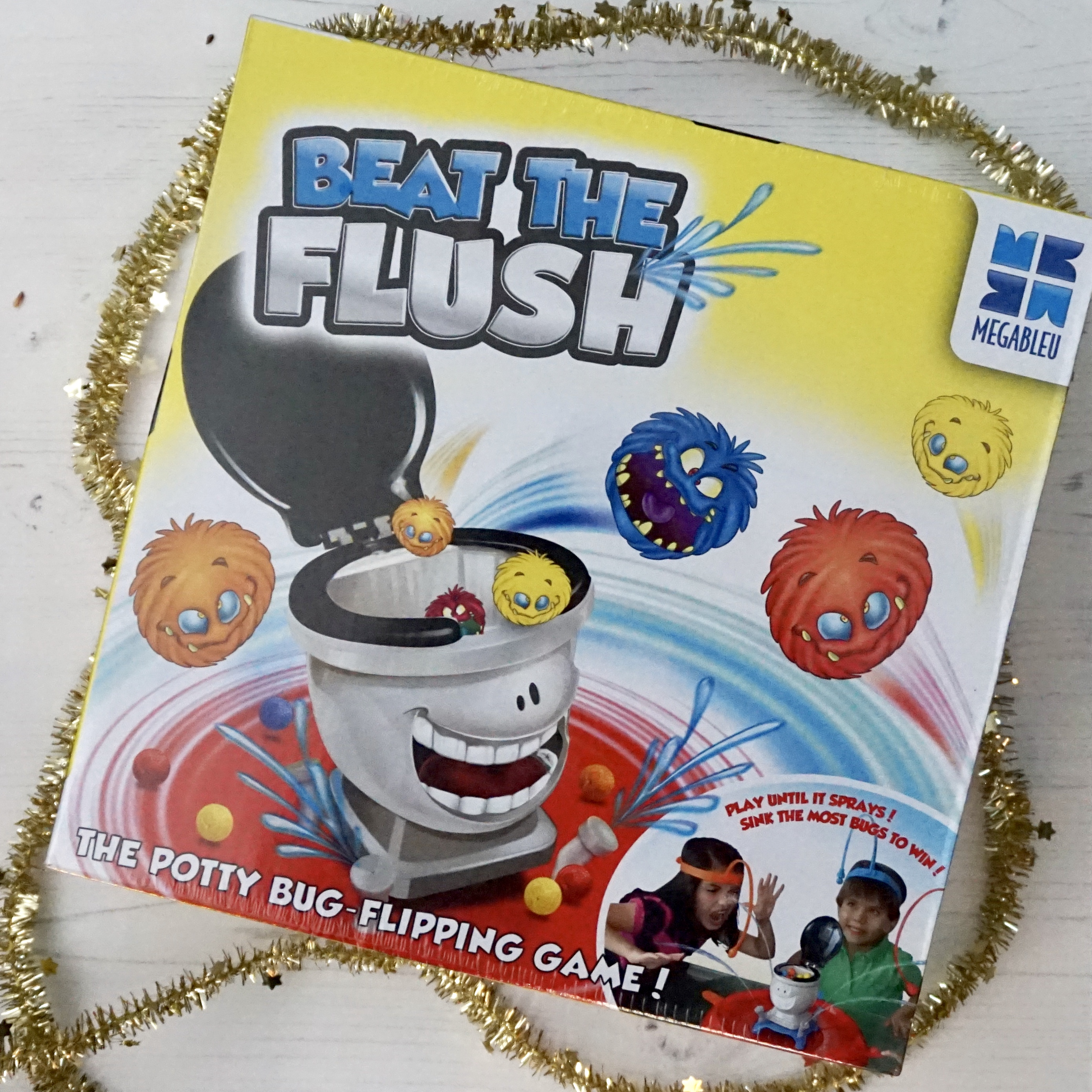 Christmas gifts beat the flush