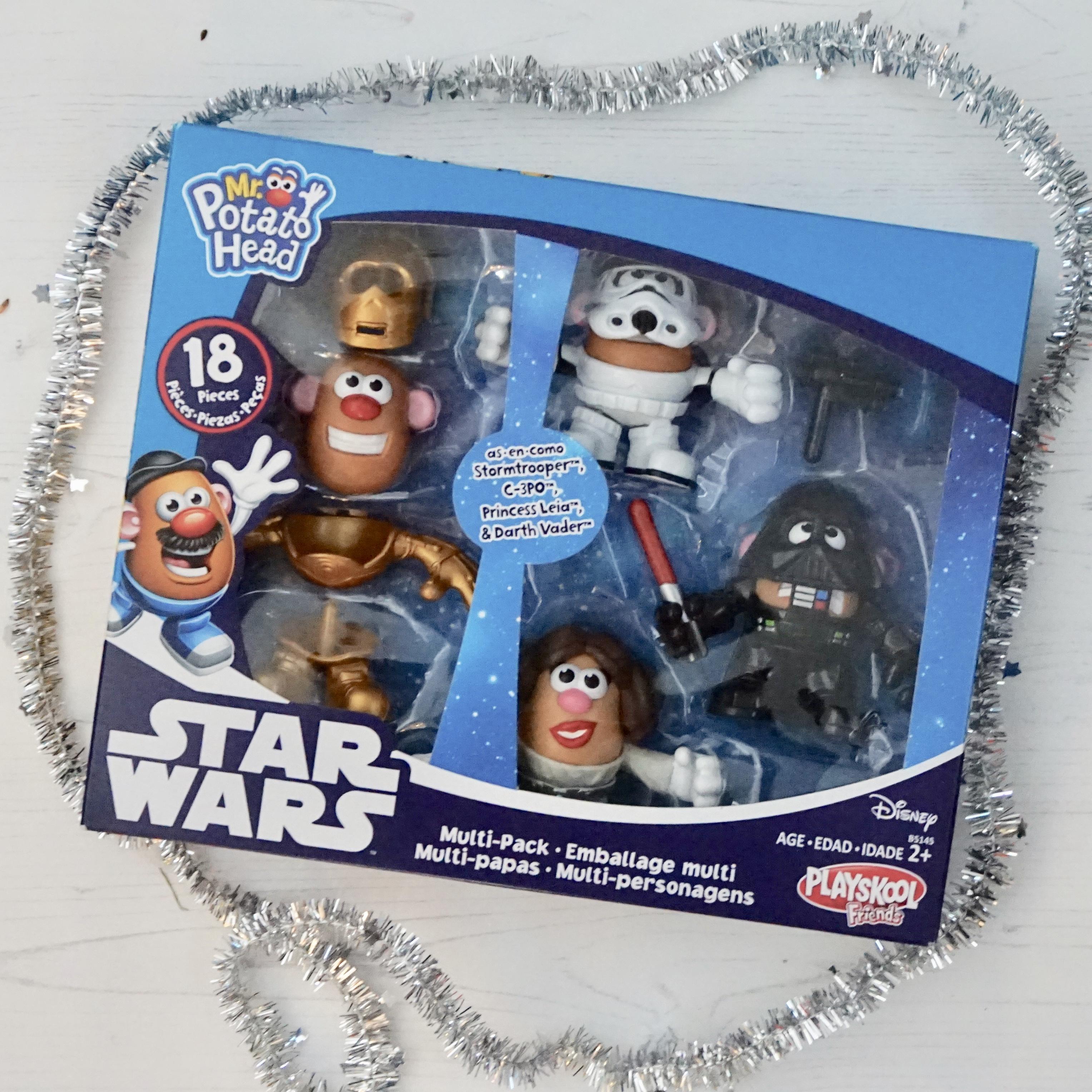 Christmas gifts Star Wars potato heads