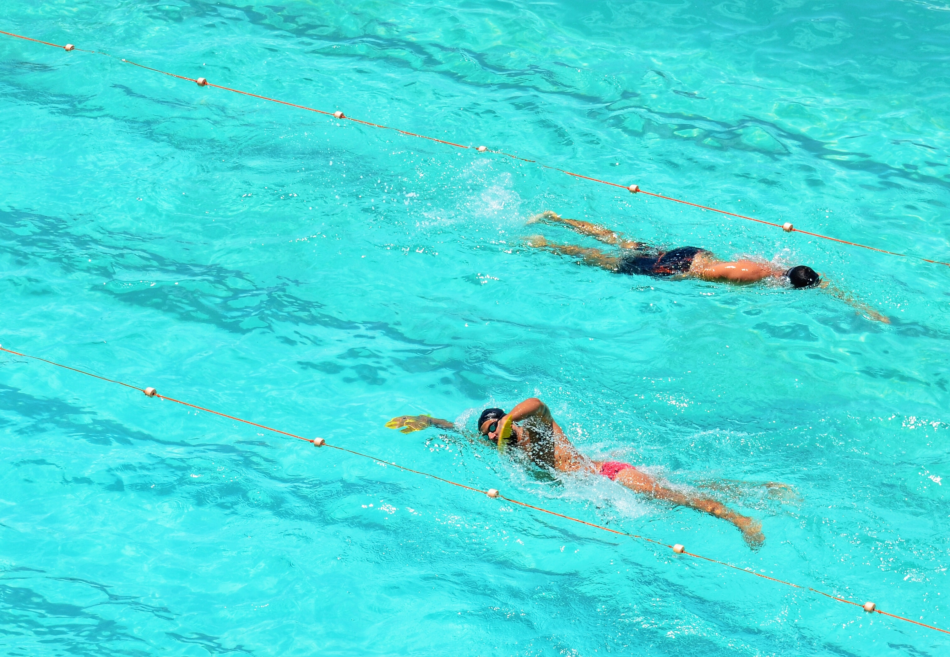 Getting Active - swimming