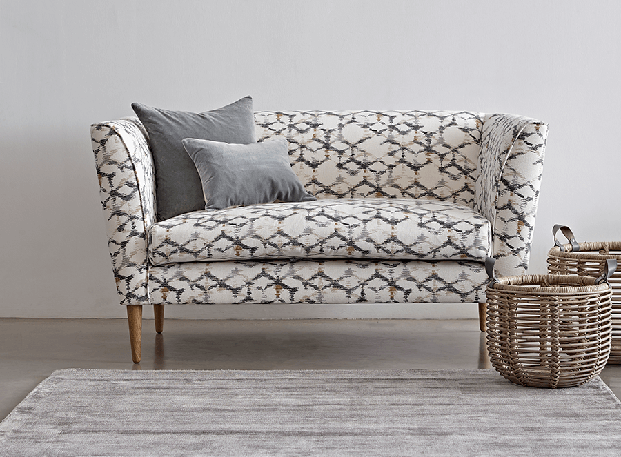 statement sofa print