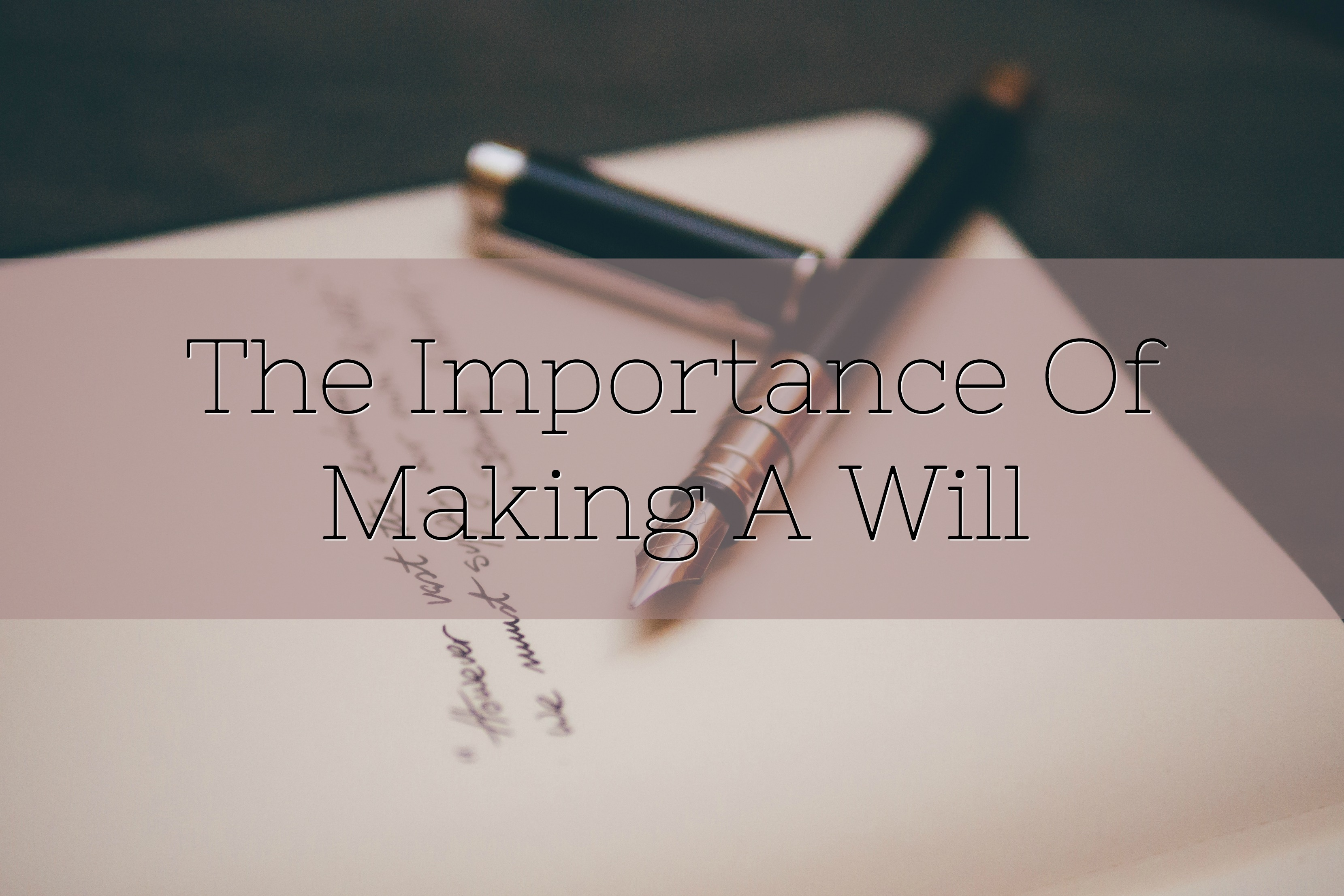 making a will title
